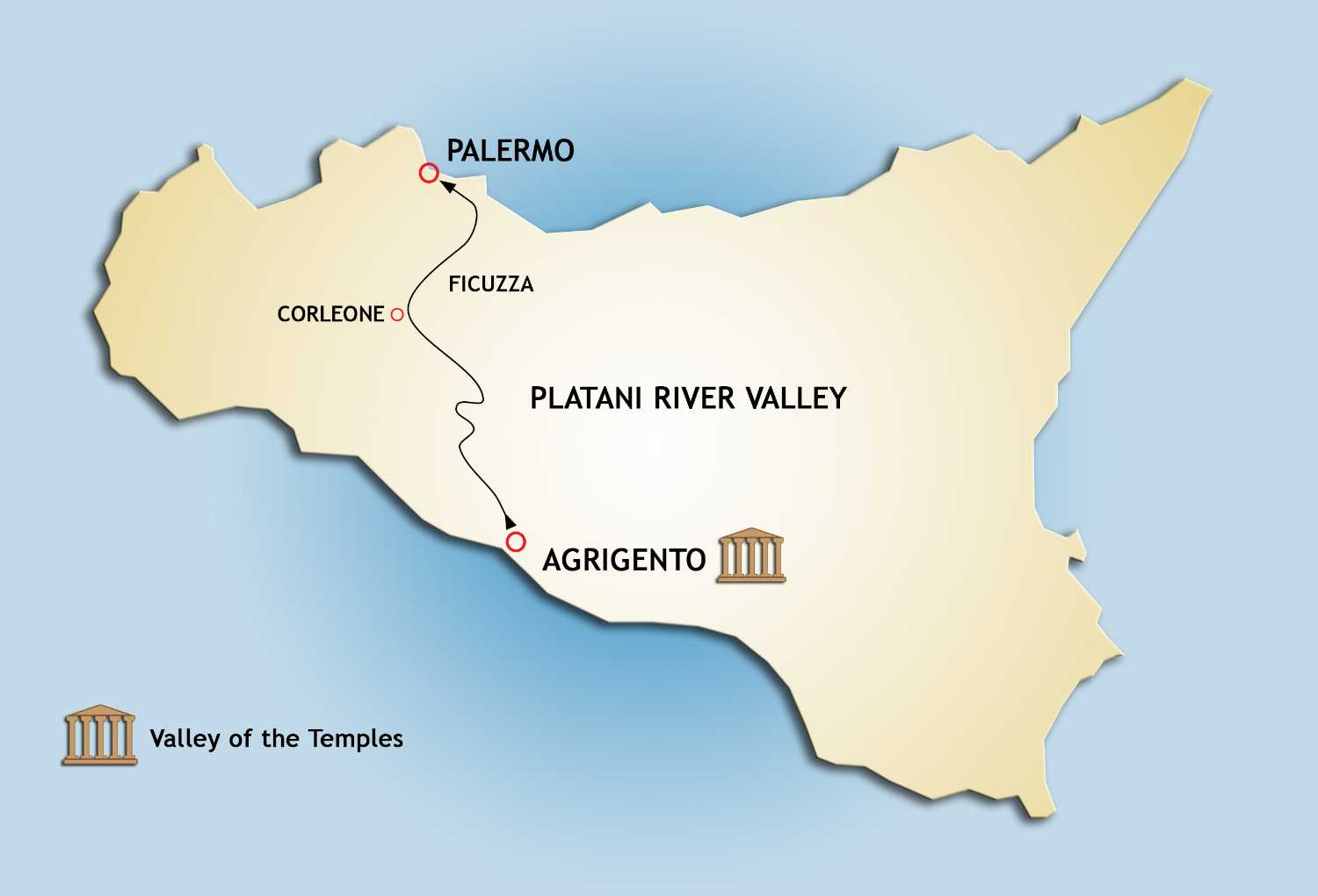 Private Transfer Tour from Agrigento to Palermo: off the beaten ...
