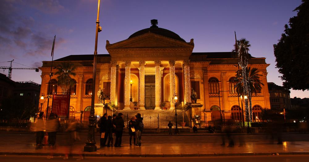 Theatre Massimo in Palermo