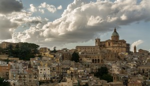 Piazza Armerina panoramic view for a Sicily Golf Tour