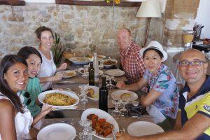 Erice 8 – pranzo in Agriturismo