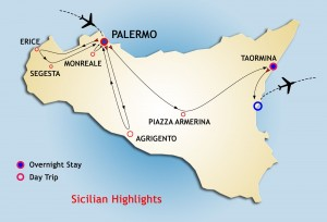 Sicilian Highlights starts Saturday from Palermo