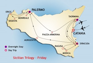 Sicilian Trilogy Tour starts Friday from Siracusa