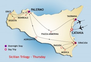 Sicilian Trilogy Tour starts Thursday from Siracusa