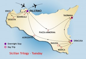 Sicilian Trilogy Tour stars Tuesday from Palermo