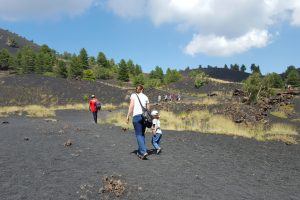 Etna hiking