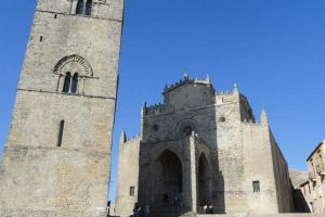 Erice-the-main-church-and-the-bell-tower
