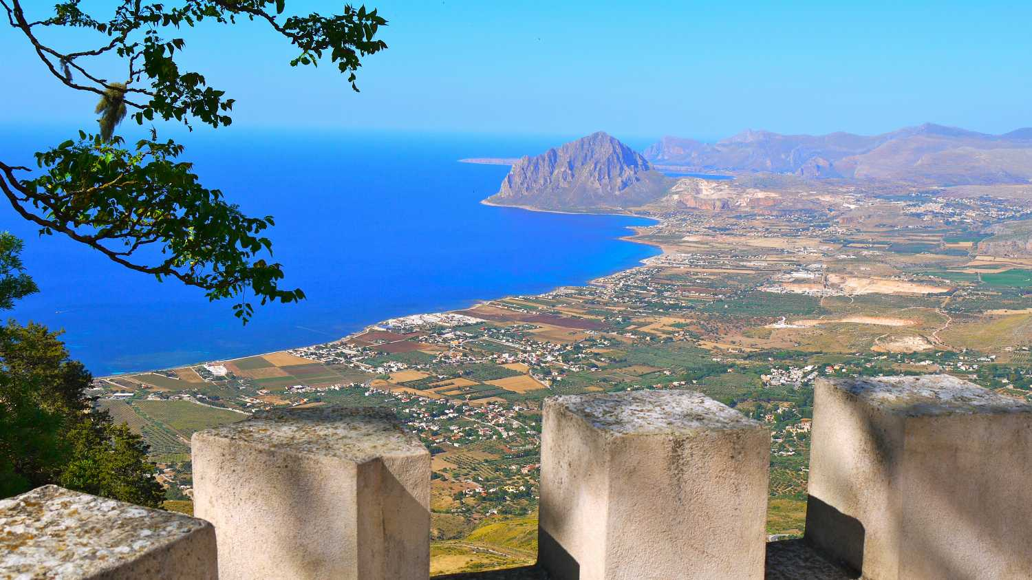 Erice, the amazing view