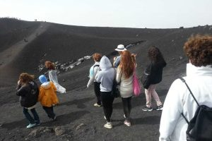 Etna-walking-on-highest-Craters