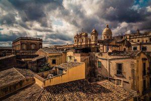 Noto rooftops