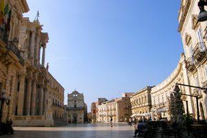 Siracusa Piazza Duomo