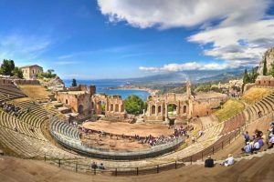 Taormina Greek Temple