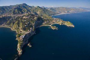 Taormina-coast-line