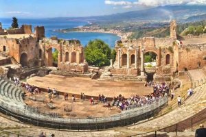 Taormina-greek-theater-view
