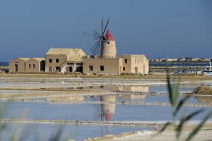 The salt flat of Marsala