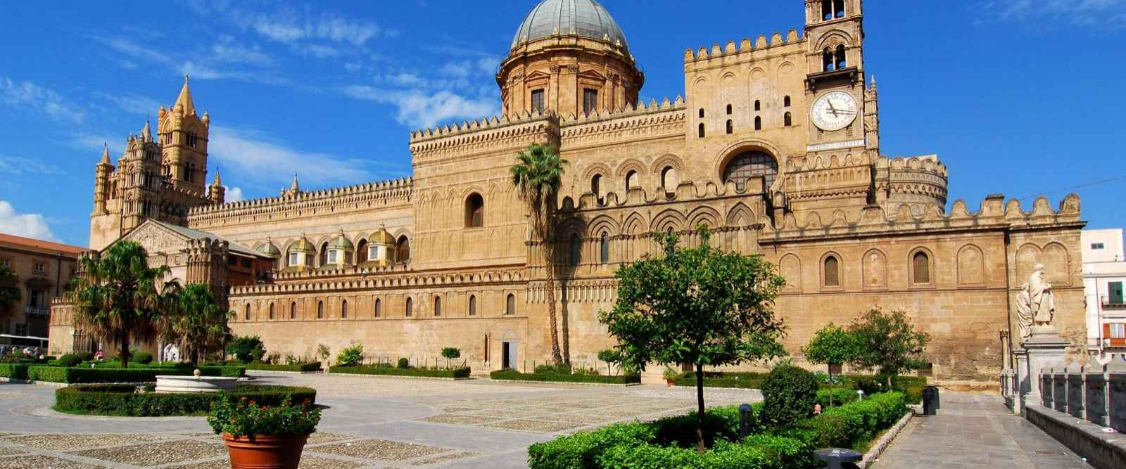 half day taxi tour to monreale and palermo from palermo port tour