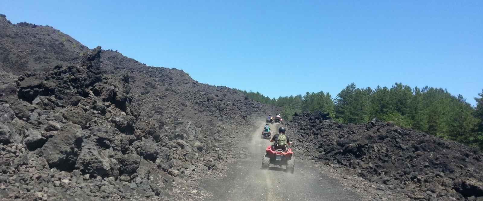 Etna Volcano by Quad Bike