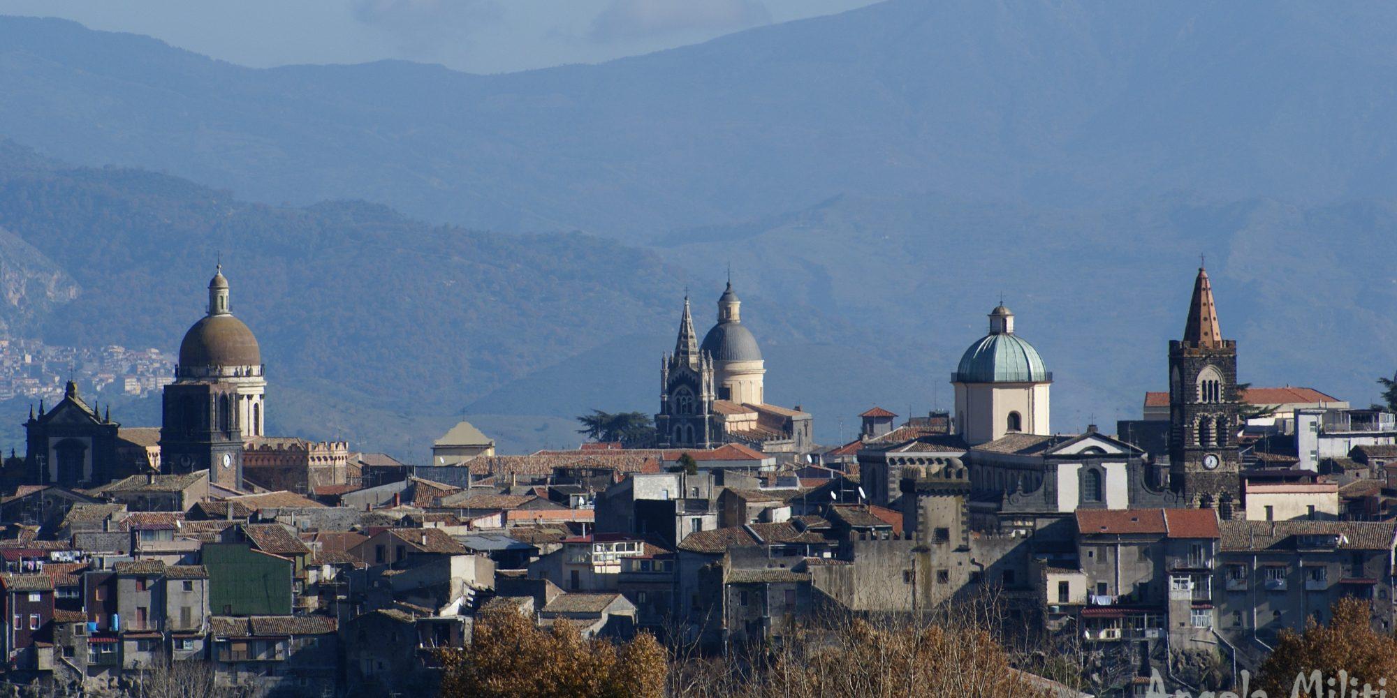 Etna Volcano village: Randazzo