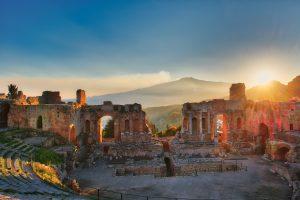 Taormina, Greek Roman Temple