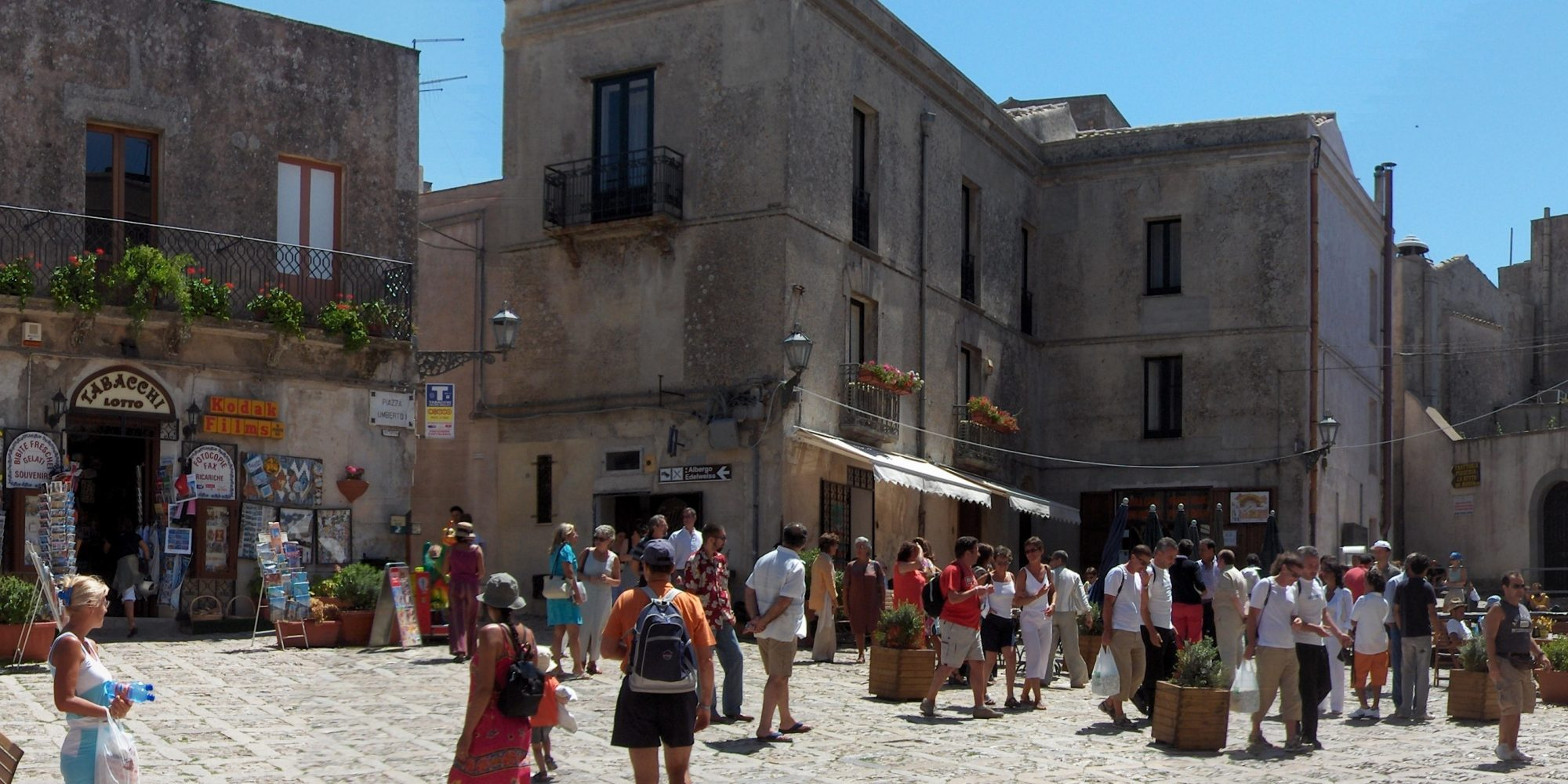 Erice, the main square