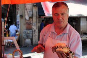 PALERMO – Venditore panino-milza