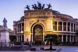 Palermo, Politeama Theatre