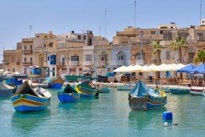 Malta_Marsaxlokk village
