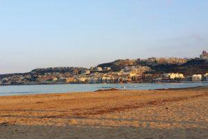 Malta_Mellieha beach