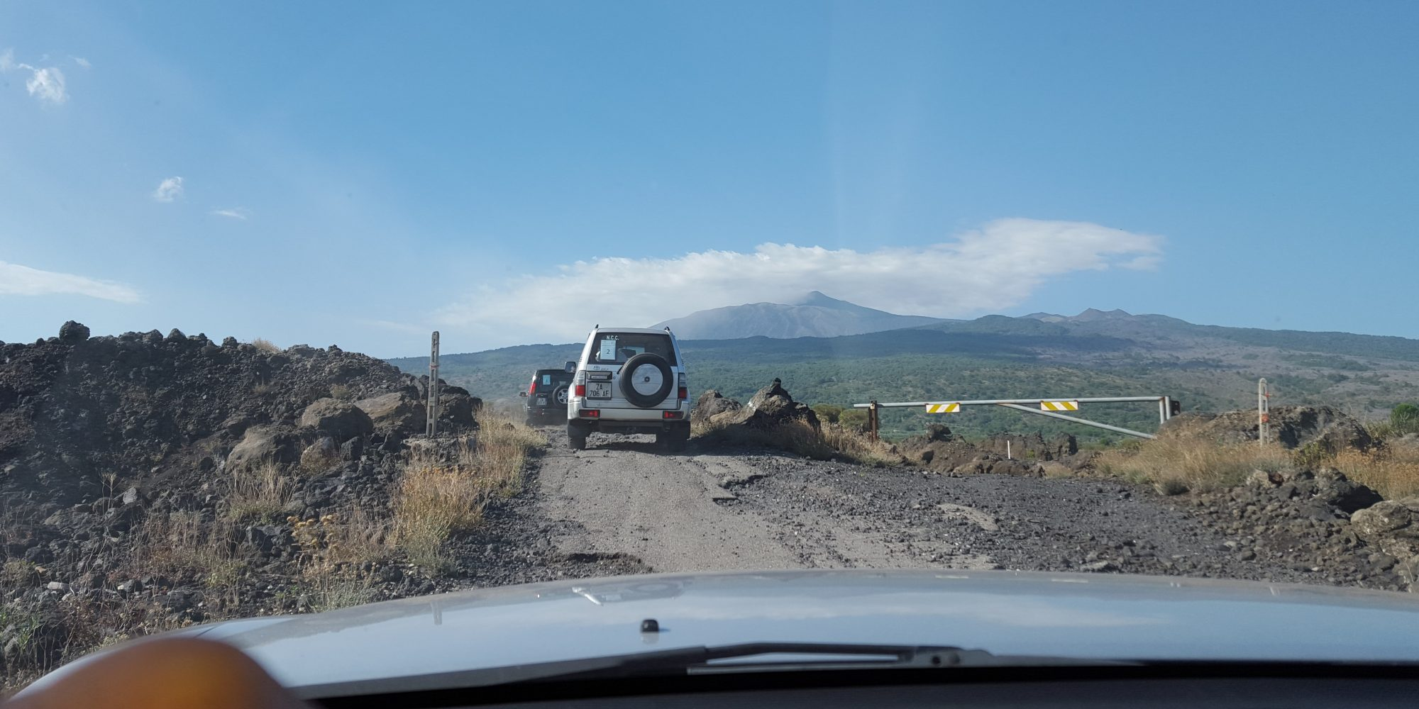 Mount Etna Land Rover experience