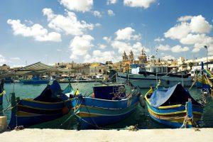 Malta_Marsaxlokk port